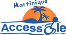 Logo Martinique Accessible